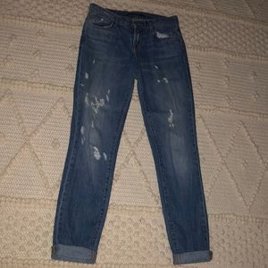 J Brand distressed boyfriend jeans